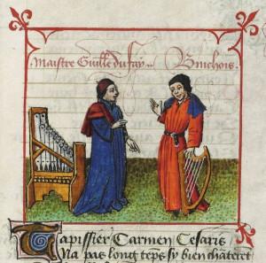 Curso gratuito de interpretación de la música de Guillaume de Machut y de Guillaume Dufay