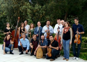 No todos los días se puede ver un concierto barroco con instrumentos de época