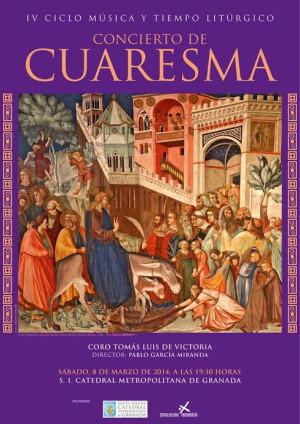 Concierto de Cuaresma del Coro Tomás Luis de Victoria de Granada