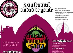 XXIII Festival de música antigua y sacra 'Ciudad de Getafe'
