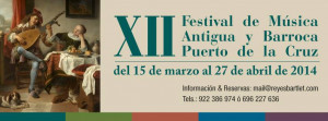 Festival de Música Antigua y Barroca de Puerto de la Cruz