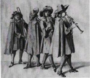 Los waits en la Inglaterra medieval, ¿vigías convertidos en músicos?
