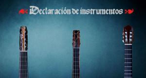 """""""Declaración de Instrumentos"""", una fantástica iniciativa para promover e impulsar la cuerda pulsada"""