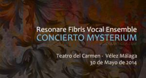 Resonare Fibris Vocal Ensemble & Consort presenta en concierto Mysterium