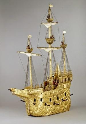 El galeón autómata del emperador Rodolfo II