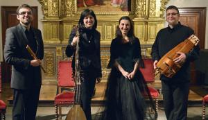 El Ensemble L'Allegrezza homenajea a Santa Teresa en el castillo ducal
