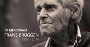 Fallece FRANS BRÜGGEN