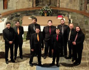 Cantos mozárabes en Barcia de Mera por Vox Organalis