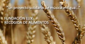 Concierto solidario de Música Antigua para el banco de alimentos