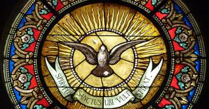 Una bella pieza titulada Spiritus Sanctus