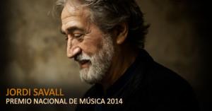 Jordi Savall, Premio Nacional de Música 2014 del Ministerio