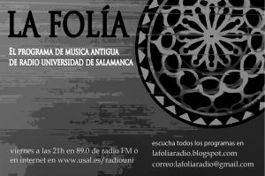 """Regresa """"La Folía"""" con Handel y Vivaldi"""