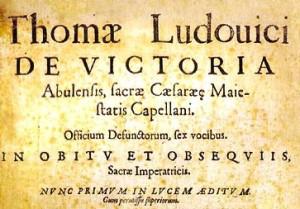 El Officium defunctorum, de Tomás Luis de Victoria