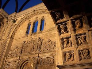 El Auditorio de San Francisco preparado para inagurar el Festival de Música Antigua de Úbeda y Baeza