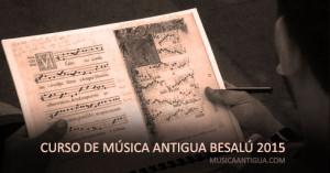 ¿Te apetece hacer un curso de Música Antigua?