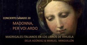 Madrigales de los Libros de vihuela sXVI  – Delia Agúndez & Manuel Minguillón