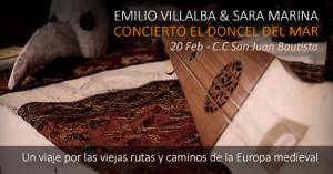 Emilio Villalba y Sara Marina nos harán viajar en el tiempo