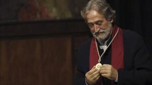 Jordi Savall acepta el I premio de honor de la asociación GEMA