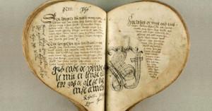 Un misterioso manuscrito, en forma de corazón, que contiene música de hace 500 años