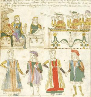 Quattrocento. Esplendor cortesano en las danzas de Alfonso el Magnánimo.