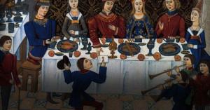 Cenas medievales en torno a la cultura y el diálogo musical