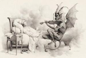 Música para ahuyentar al diablo
