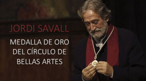 Jordi Savall, medalla de Oro del Círculo de Bellas Artes