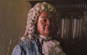 El viejo peluca Johann Sebastian Bach