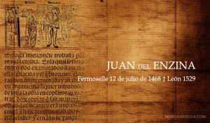 """JUAN DEL ENCINA: EL """"CANCIONERO"""" DE 1496"""