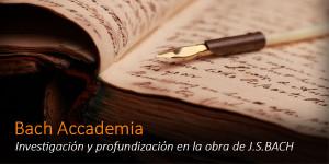 "Nace ""Bach Accademia"""