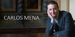 """Carlos Mena será """"profe"""" en la Academia Internacional de Canto Histórico"""