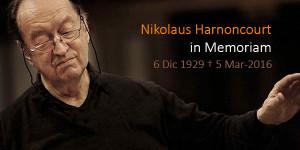 """Una era ha llegado a su fin"". Muere Nikolaus Harnoncourt"