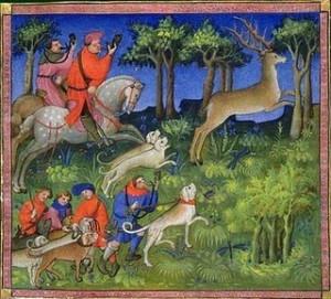 Caccia: escenas de caza italianas del Trecento