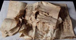 Hallada una partitura medieval de hace 1000 años
