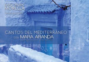 Mara Aranda impartirá un seminario en el Early Music Morella