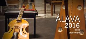 Llega la Semana de Música Antigua de Álava