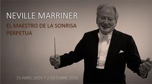 Muere Sir Neville Marriner