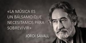 Savall, un músico comprometido con el arte, la historia y la sociedad actual