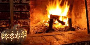 Una Navidad junto a la chimenea