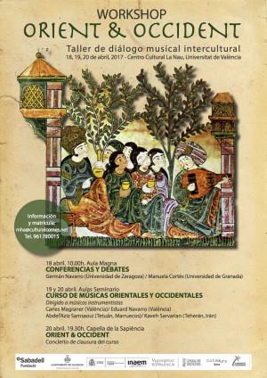 Workshop ORIENT & OCCIDENT – Taller de diálogo musical intercultural