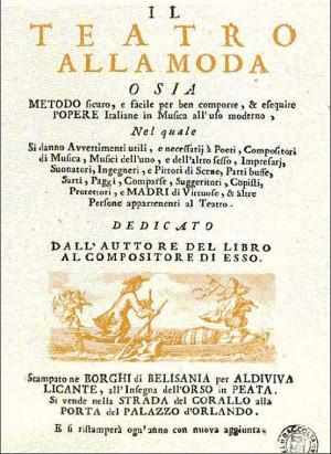 """""""Ill teatro alla moda"""": una crítica mordaz que destaca la faceta operística de Vivaldi"""