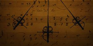 LOS 3 MOSQUETEROS. Música de Luis XIII