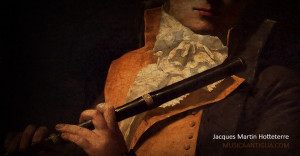 16 de julio de 1763: Muere Jacques Martin Hotteterre, el más importante flautista de su generación
