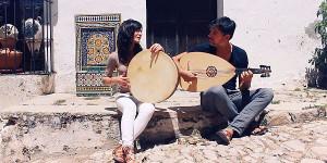 Emilio y Sara dos enamorados de la música Andalusí