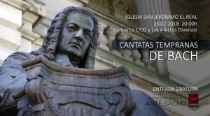 Divina Juventud: Cantatas tempranas de Bach