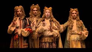 Los tonos humanos en la escena barroca