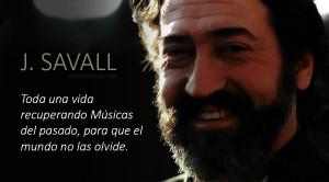 Una auténtica maravilla la que nos ofrece Jordi Savall