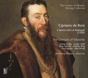 Il Quinto Libro di Madrigali de Cipriano de Rore