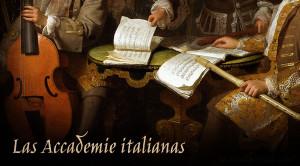 La presencia de la música en las accademie italianas