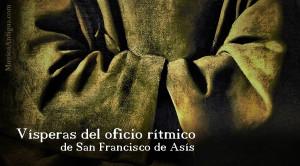 Interpretación del oficio rítmico de San Francisco de Asís